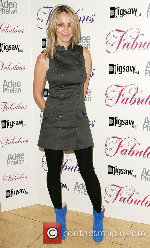 Natalie Appleton Adee Phelan Fabulous haircare launch party...
