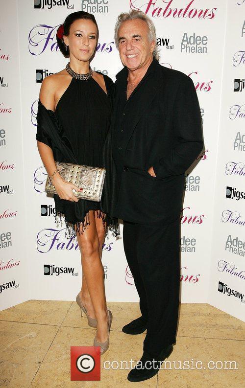 Peter Stringfellow and Bella Adee Phelan Fabulous haircare...