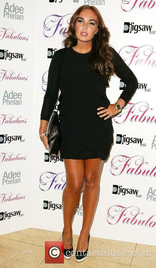 Tamara Ecclestone Adee Phelan Fabulous haircare launch party...