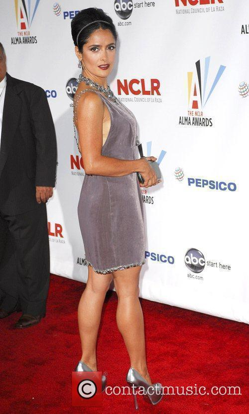 Salma Hayek 2009 ALMA Awards - Arrivals at...