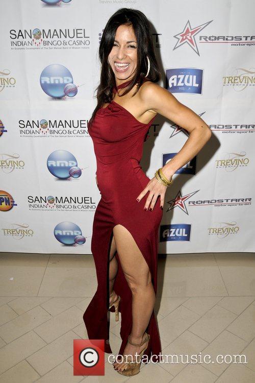 Deliah Cotto  2009 ALMA Awards post reception...