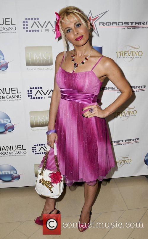 Sabrina Parisi  2009 ALMA Awards post reception...