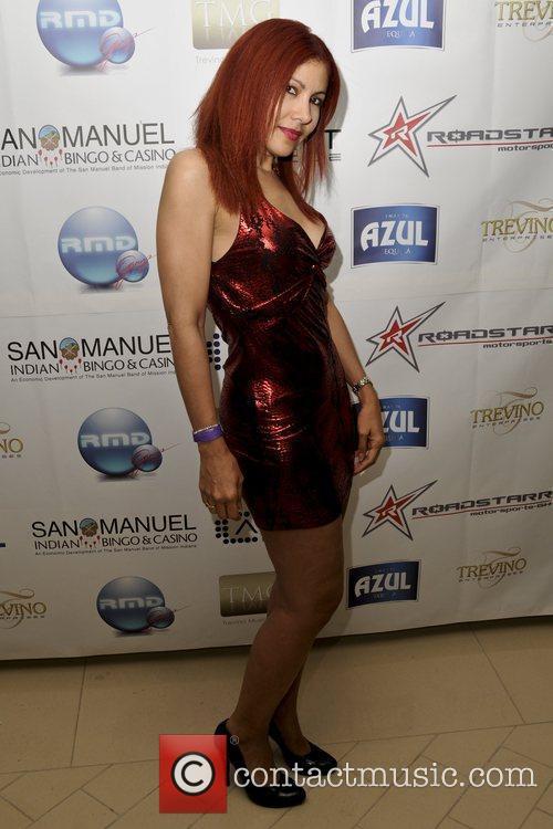 Yazmin Ortiz  2009 ALMA Awards post reception...
