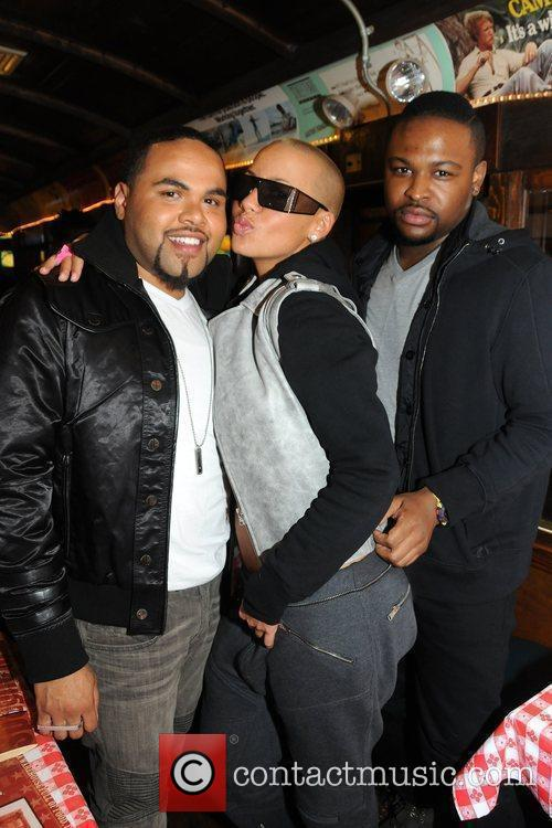 Amber Rose attends her stylist Congo Green's birthday...