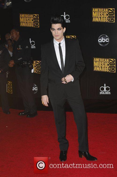 Adam Lambert 2009 American Music Awards - Arrivals...