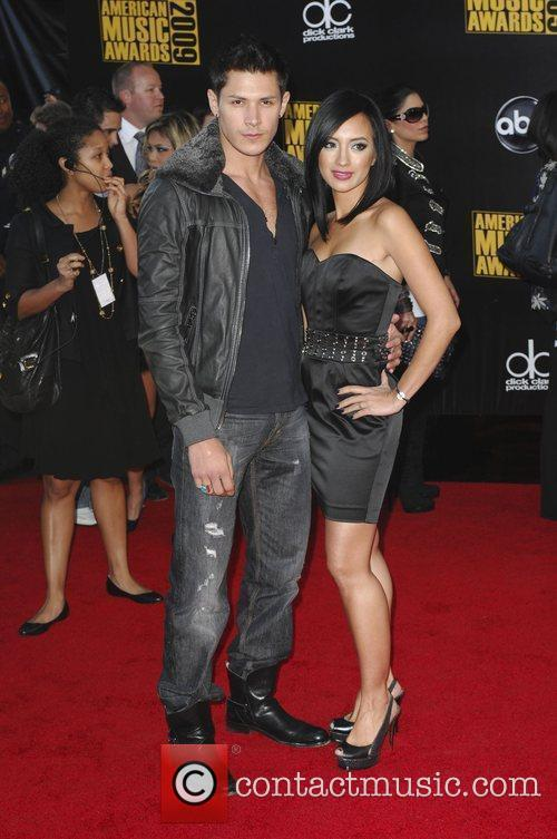 Alex Meraz and guest 2009 American Music Awards...