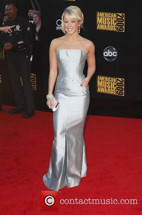 Chelsea Hightower 2009 American Music Awards - Arrivals...