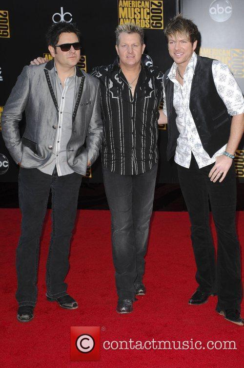 Jay DeMarcus, Joe Don Rooney, and Gary LeVox...