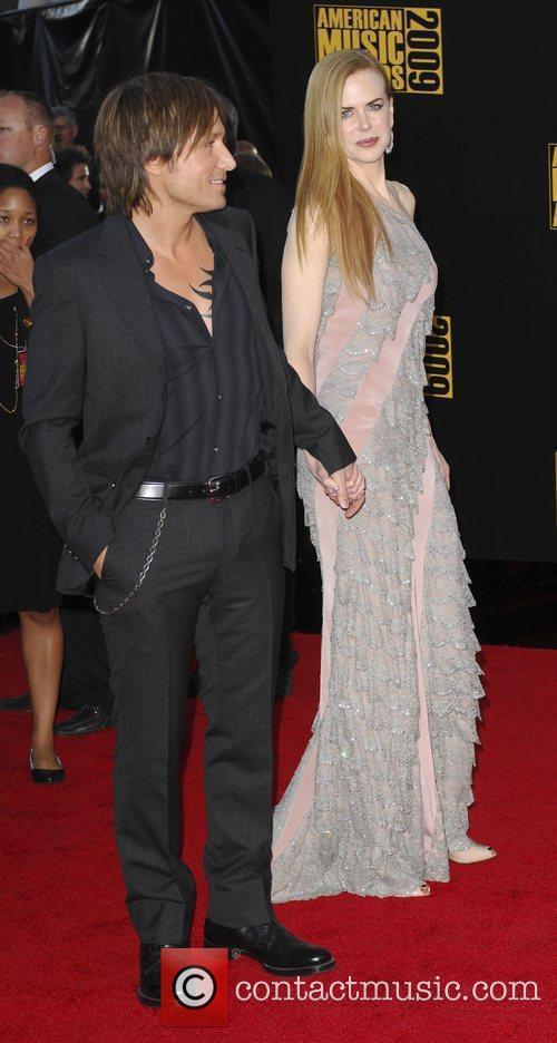 Keith Urban and Nicole Kidman 2009 American Music...