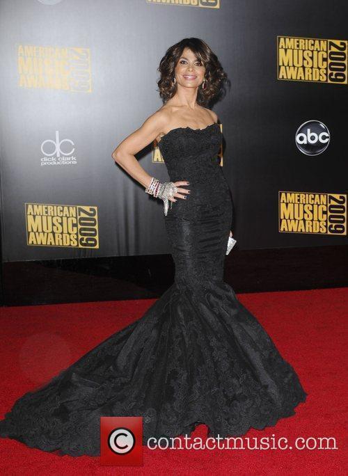 Paula Abdul 2009 American Music Awards - Arrivals...