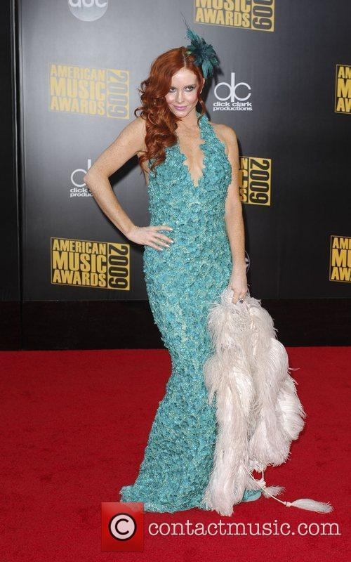 Phiebe Price 2009 American Music Awards - Arrivals...