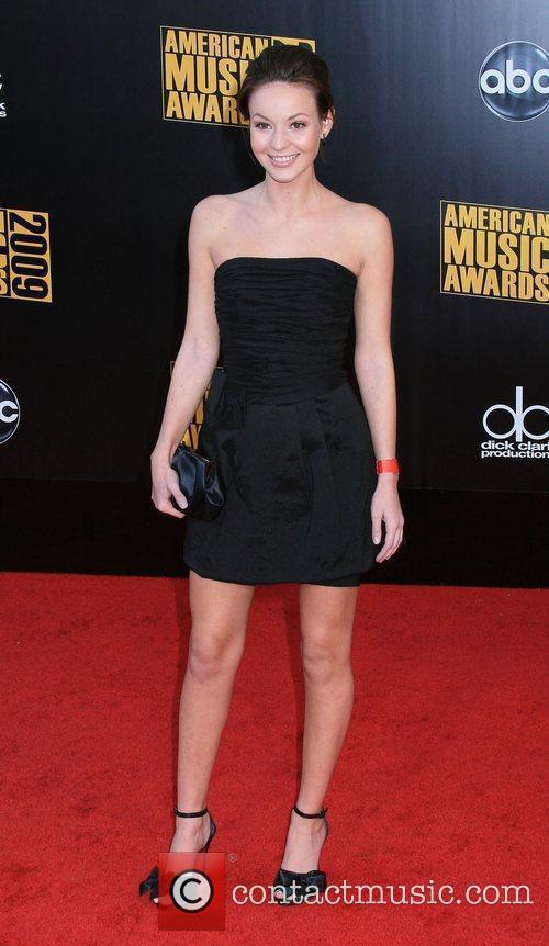 Samantha Droke 2009 American Music Awards - Arrivals...