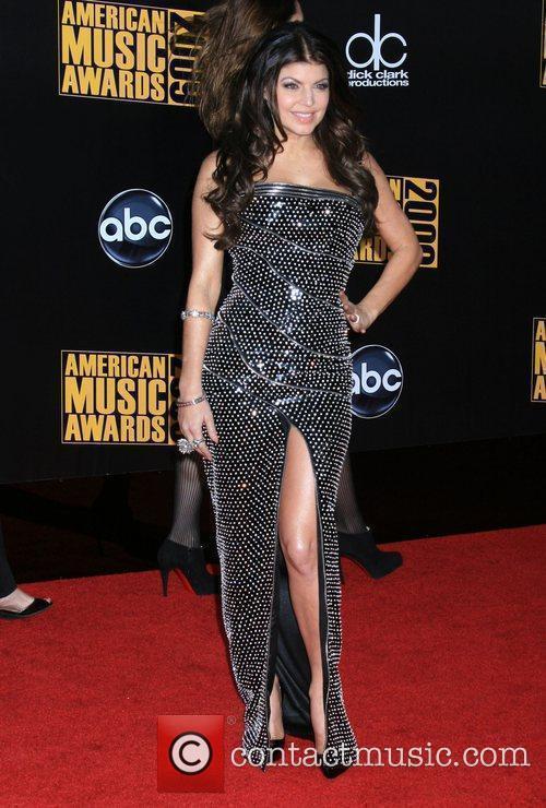 Fergie of the 'Black Eyed Peas' 2009 American...