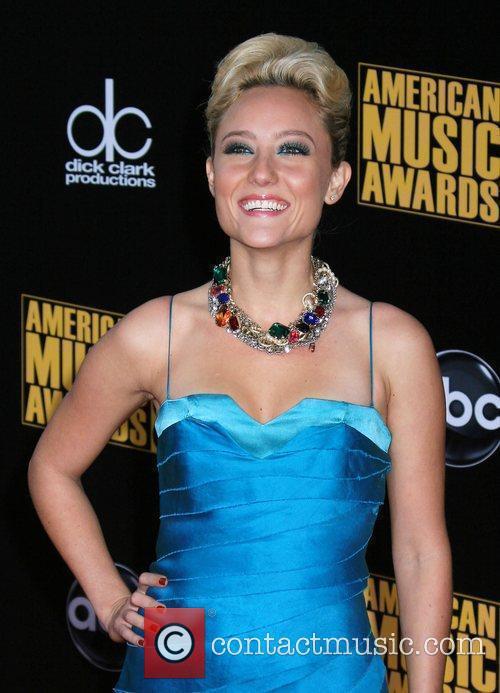 Lauren Mayhew 2009 American Music Awards - Arrivals...