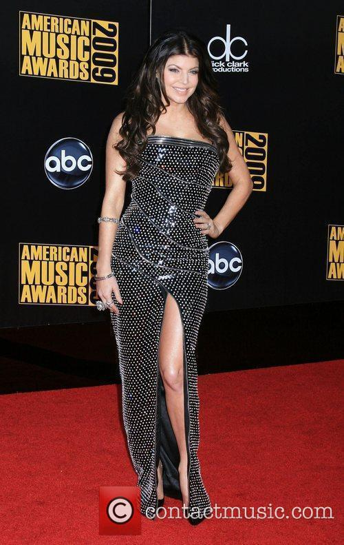 Fergie aka Stacy Ferguson of 'Black Eyed Peas'...