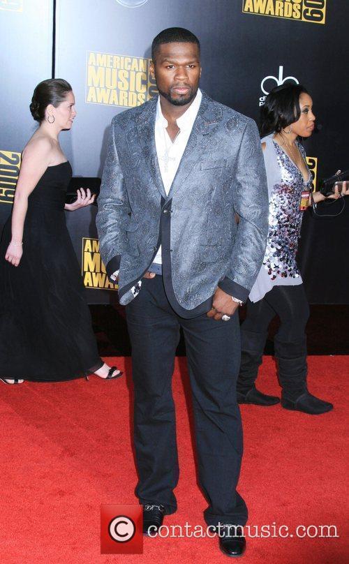 50 Cent aka Curtis Jackson 2009 American Music...