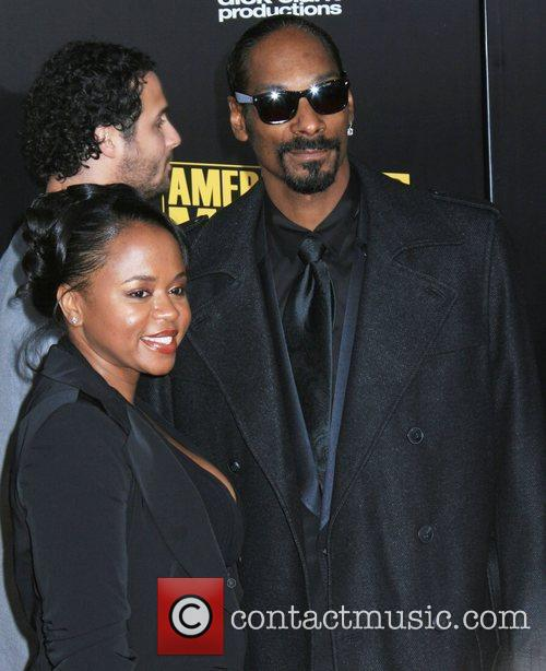 Snoop Dogg and his wife Shante Taylor 2009...