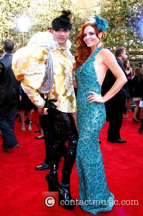 Phoebe Price and guest 2009 American Music Awards...