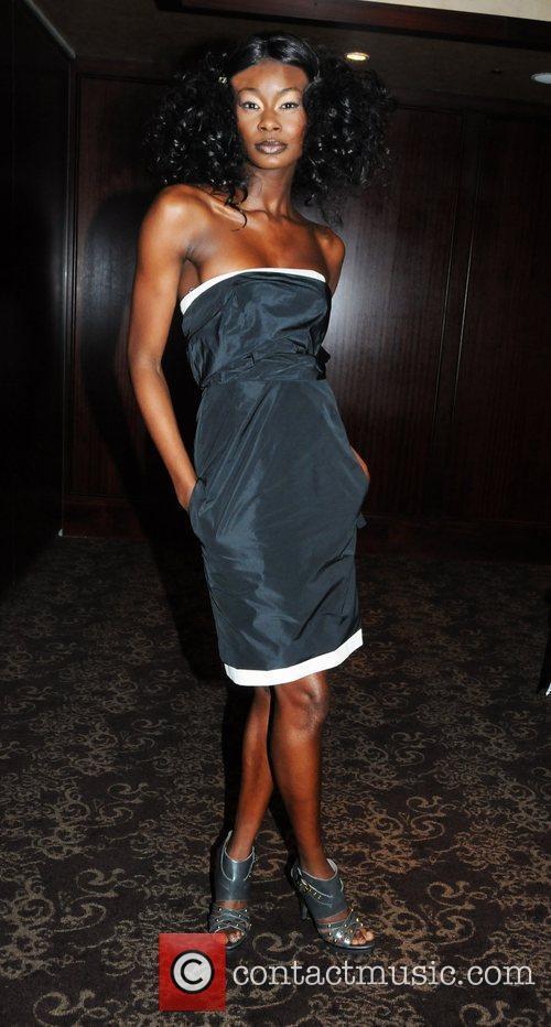 Aminat Ayinde (wearing Sonia Rykeil provided by Mainline...