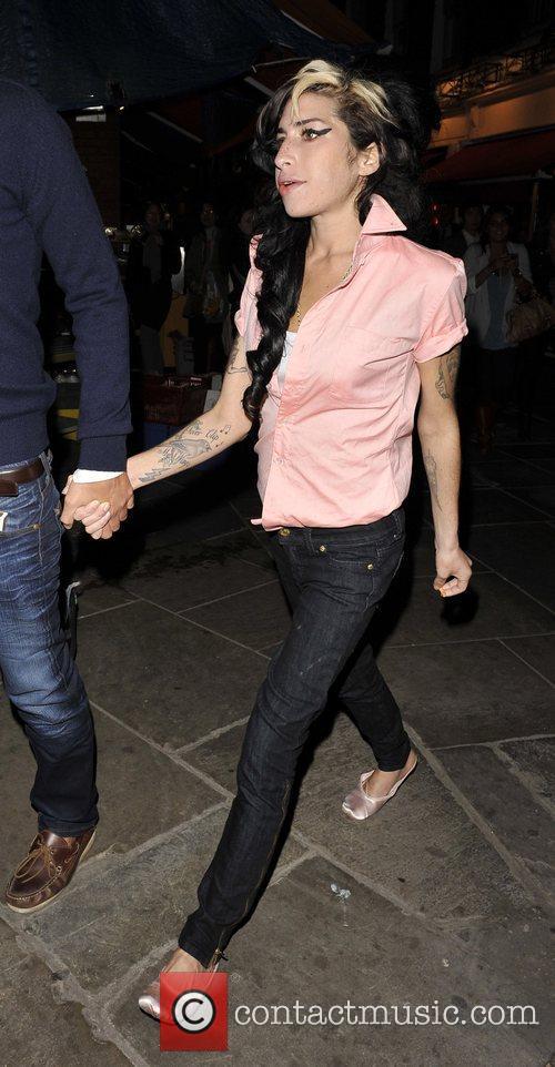 Amy Winehouse, Soho, London