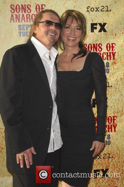 Katey Sagal and Kurt Sutter 8