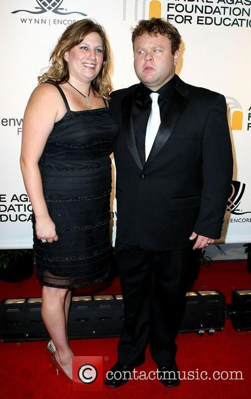 Frank Caliendo with wife Michele The Andre Agassi...
