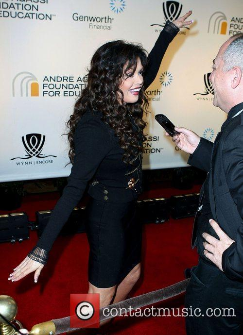 Marie Osmond and Andre Agassi 6