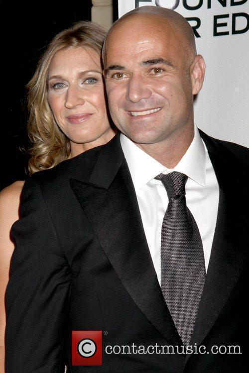 steffi graf photos. Steffi Graf and Andre Agassi