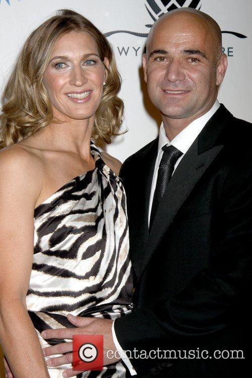 Steffi Graf and Andre Agassi 1