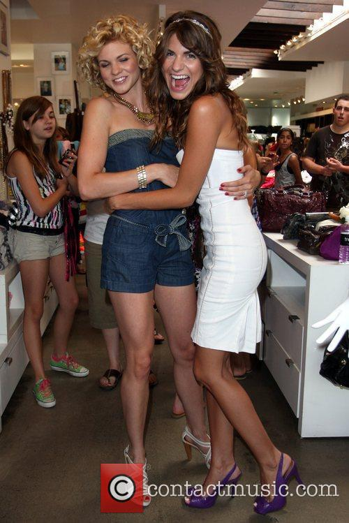 Angel and Rachel McCord attends the Exclusive Preview...