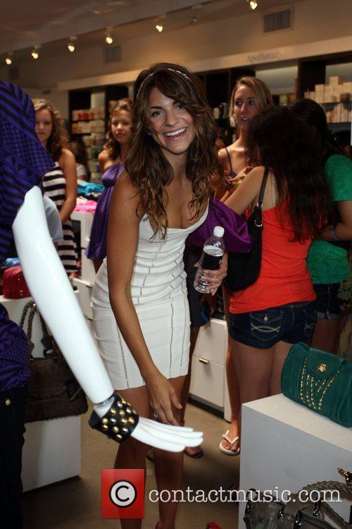 Rachel Mccord Attends The Exclusive Preview Of The Magnolia Collection From Treesje 1