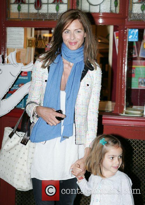 Trinny Woodall with her daughter Lyla Angelina Ballerina's...