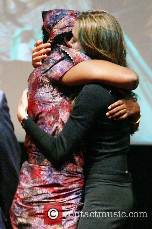 Angelina Jolie and Rose Mapeno 7