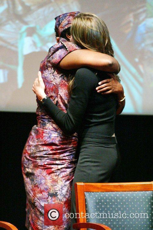 Angelina Jolie and Rose Mapeno 3