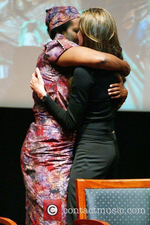 Angelina Jolie and Rose Mapeno 10