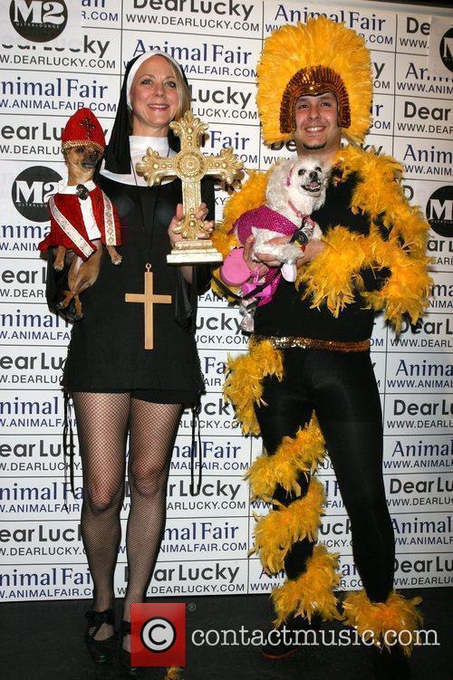 Karen Biehl, Eli, Roberto Nagron Animal Fair magazine's...