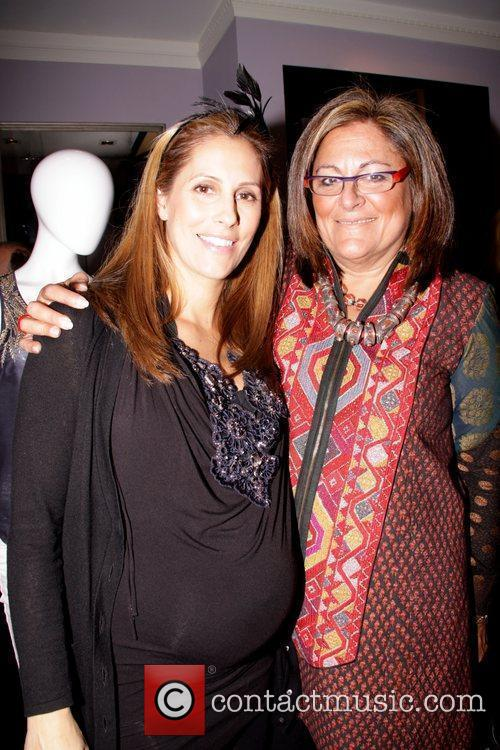 Cristina Cuomo and Fern Maliis Cocktail reception at...