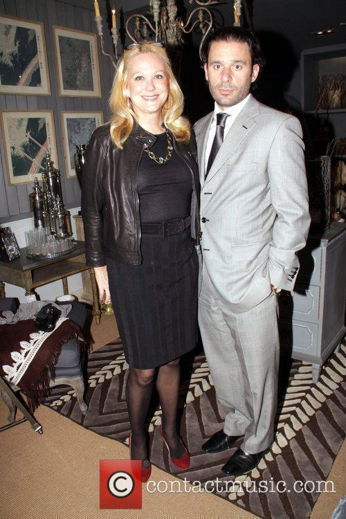 Nina Griscom and Leonel Piraino Cocktail reception at...