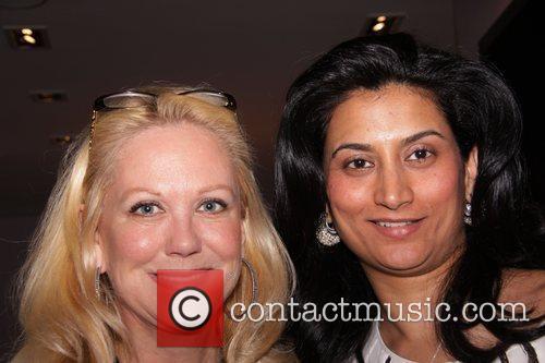 Nina Griscom and Babi Ahluwalia Cocktail reception at...