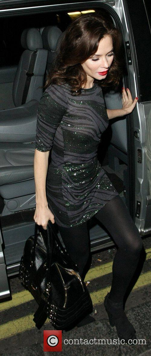 Anna Friel  arriving at Groucho private members...