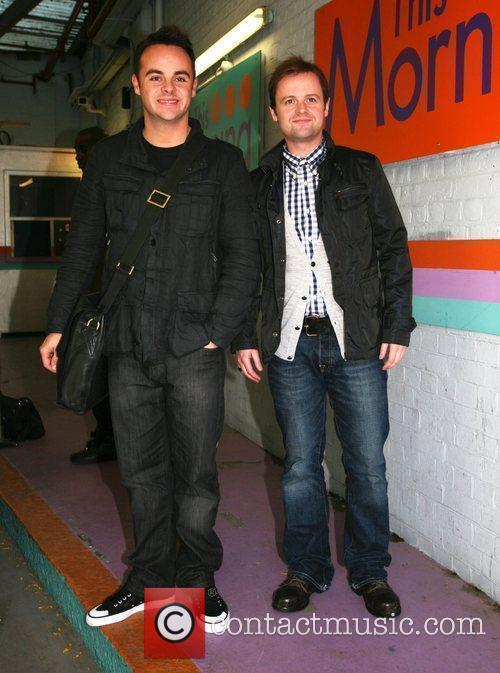 Anthony McPartlin and Declan Donnelly aka Ant and...