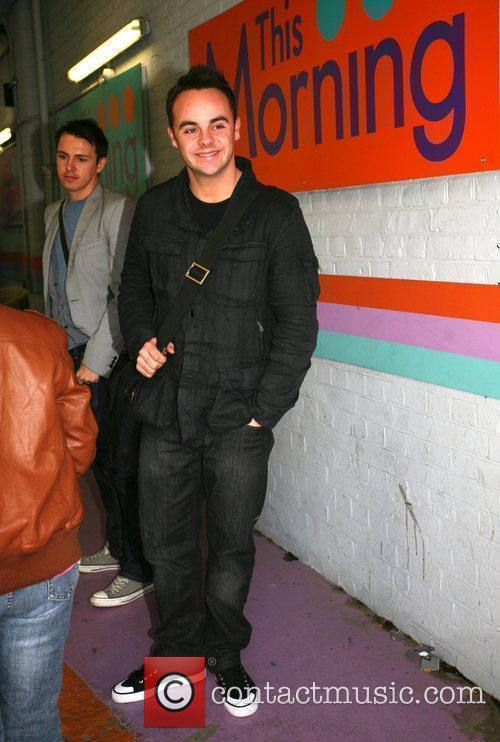Anthony McPartlin aka Ant outside the 'This Morning'...