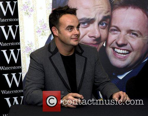 Ant Ant and Dec sign copies of their...