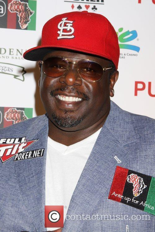 Cedric The Entertainer Ante Up for Africa celebrity...
