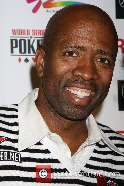 Kenny Smith Ante Up for Africa celebrity poker...