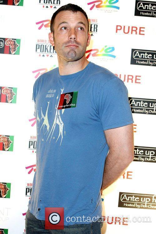 Ben Affleck Ante Up for Africa celebrity poker...