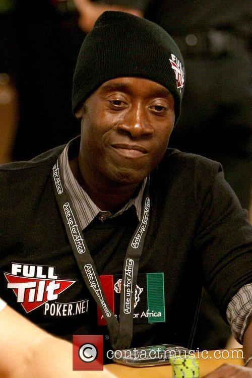 Don Cheadle Ante Up for Africa celebrity poker...