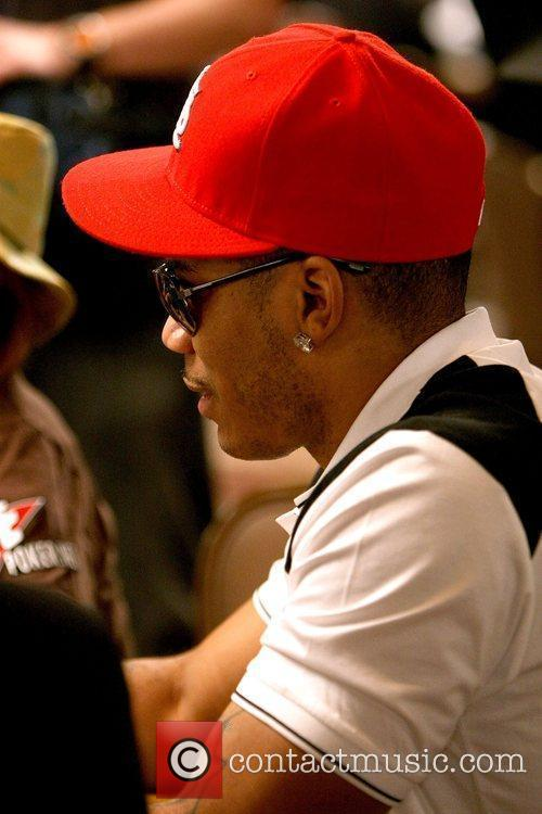 Nelly Ante Up for Africa celebrity poker tournament...
