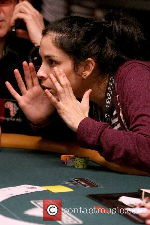 Sarah Silverman Ante Up for Africa celebrity poker...