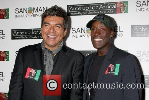 George Lopez and Don CHeadle The 2nd Annual...
